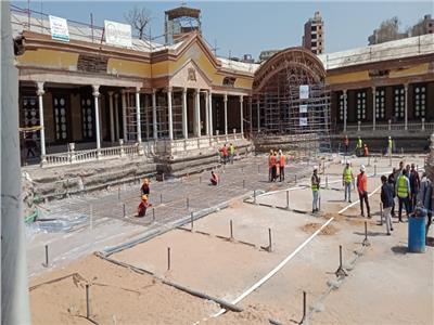 الانتهاء من أعمال ترميم قصر محمد علي قبل نهاية 2021