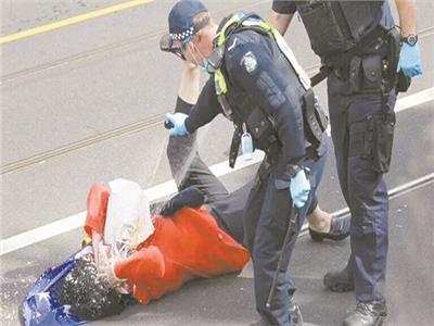 اعتقال أكثر من مائتي شخص في ملبورن بسبب كورونا
