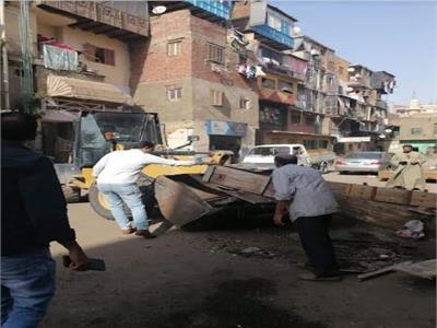 الموجه 18 لإزالة التعديات على أراض الدولة تجتاح أحياء القاهرة