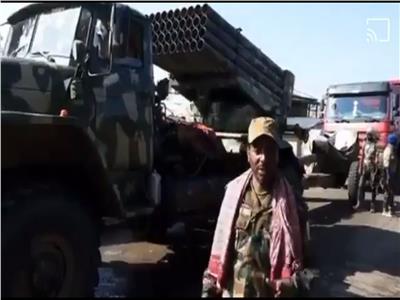 شاهد| دبابات وصواريخ ومدافع.. قوات تيجراي تغتنم أسلحة من الجيش الإثيوبي