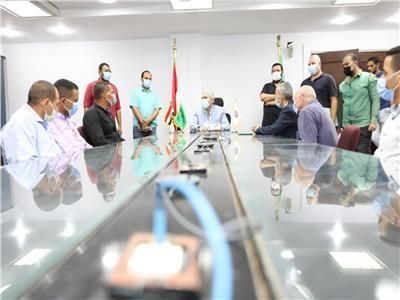 «مياه المنيا»: تكريم المتميزين ومديري الإدارات العامة بالقطاع التجاري
