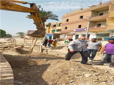الإنتهاء من مشروع الصرف الصحي بمدينة القرنة أكتوبر المقبل