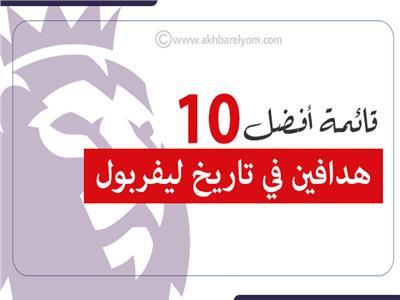 إنفوجراف | قائمة أفضل 10 هدافين في تاريخ ليفربول