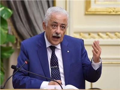 مستند.. وزير التعليم: استلام الكتب المدرسية بعد سداد نصف المصروفات