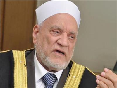 أحمد عمر هاشم بعد تكريمه من السيسي: «أكرمه الله على الدعم المعنوي والروحي»