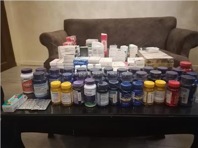 خاص  مسجل خطر ينتحل صفة «صيدلي» ضبط بحوزته 50 ألف قرص مخدر بالمعادي
