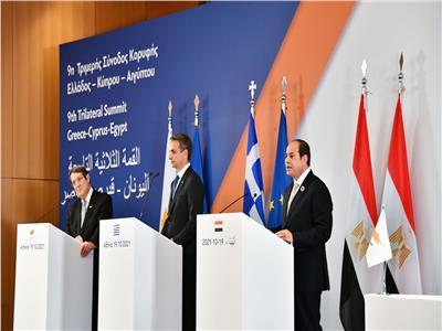 الرئيس السيسي يعود إلى أرض الوطن بعد المشاركة في قمة أثينا الثلاثية
