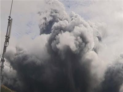 لحظة انفجار أحد أكبر البراكين في العالم .. فيديو