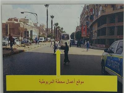 غلق شارع الأهرام كليًا لتنفيذ أعمال الخط الرابع للمترو  فيديو