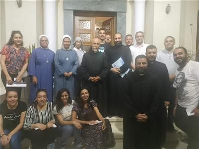 الجواهر العشر في لجنة التحضير لسينودس الأساقفة بأسيوط