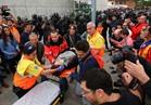 إصابة 38 شخصا خلال اشتباكات مع الشرطة في استفتاء كتالونيا