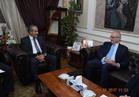 السفير الإيطالي في لقاء عمل رسمي بالقاهرة يناقش استكمال المشروع القومي للصوامع