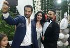 صور| عمرو سعد يحتفل بزفاف شقيقه من سمية الخشاب