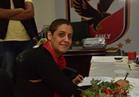 شيرين منصور تتقدم بأوراق ترشحها على مقعد العضوية تحت السن بالأهلي