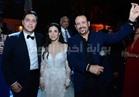 صور| هشام عباس وآلاكوشنير يحيان زفاف ابنة أيمن يونس