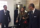 ملكة جمال الكون الفرنسية تصل القاهرة