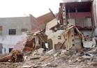 مصرع شخص وإصابة آخر في انهيار منزل بالمنيا