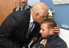 عبد العال يزور مصابي الحادث الواحات الإرهابي بمستشفى الشرطة