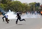 الشرطة الكينية تطلق الغاز المسيل للدموع لتفريق المتظاهرين في نيروبي