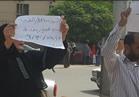 """صرف معاش لأسرة رفعت لافتة """"أسرة مصرية للبيع"""" أمام ديوان المحافظة"""