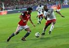 انطلاق الشوط الثاني من مباراة مصر والكونغو