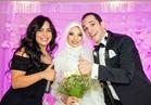 صور| زفاف «شهاب وزهرة» بتوقيع حجازي متقال وهدى ودينا