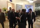 الفريق مهاب مميش يصل مؤتمر «أخبار اليوم» الاقتصادي