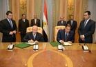 """""""العصار""""و""""صقر""""يوقعان بروتوكول تعاون لتطوير محافظة الغربية"""