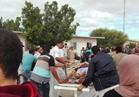تزاحم مواطني شمال سيناء على مستشفيي (العريش العام) و(بئر العبد) للتبرع بالدم
