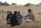 بالفيديو.. مشاهد مؤثرة من داخل مقابر شهداء «مسجد الروضة»