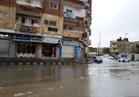 أمطار غزيرة في شمال سيناء