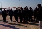 وزير التنمية المحلية يفتتح عددا من المشروعات بمحافظة السويس