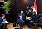 «سحر نصر و مميش» يبحثان خطة تشجيع الاستثمار بمنطقة قناة السويس