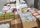 ضبط 41ألف قطعة مستلزمات طبية مجهولة المصدر