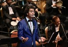 صور| محمد محسن يُغني للزمن الجميل بحفل مهرجان الموسيقى العربية