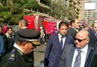 مدير أمن القاهرة يتفقد موقع انهيار 3 عقارات بروض الفرج