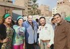 """سامح عبد العزيز يصور فيلمه الجديد بـ """"سوق الجمعة"""""""