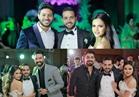 صور| محمد شاهين ومينا عطا وسراج يحتفلون بزفاف «معتز وثمر»