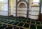 مسجد الروضة يستعد لاستقبال المصلين لتأدية صلاة الجمعة |صور