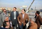 وزير الإسكان يتفقد كوبري العبور بمدينة 6 أكتوبر