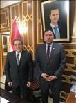 وفد من اتحاد الصيادلة العرب يلتقي رئيس الحكومة السورية