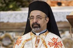 الأنبا إبراهيم إسحق يترأس قداس عيد الميلاد المجيد للأقباط الكاثوليك