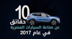 الانفوجراف| 10 حقائق لا تعرفها عن صناعة السيارات في مصر