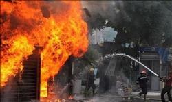 السيطرة علي حريق بمدرسة ثانوية بسمالوط