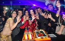 بالفيديو و الصور..صافيناز وجمال شوقي يحتفلان بعيد ميلادهما معا