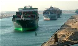 53 سفينة تعبر قناة السويس بينها أكبر ناقلة حاويات بالعالم