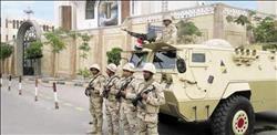 إجراءات أمنية مشددة واستنفار أمني لتأمين الكنائس في مدينة العريش