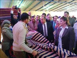 """""""الشباب والرياضة"""" تفتتح معرض للسلع الغذائية والمنتجات الحرفية بالإسكندرية"""