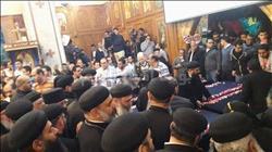 """""""رافائيل"""" في جنازة شهداء حلوان: """"لماذا لا تجفف منابع الإرهاب من العقول"""""""