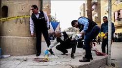 النيابة : إرهابى كنيسة مارمينا أطلق 29 رصاصة على المنازل